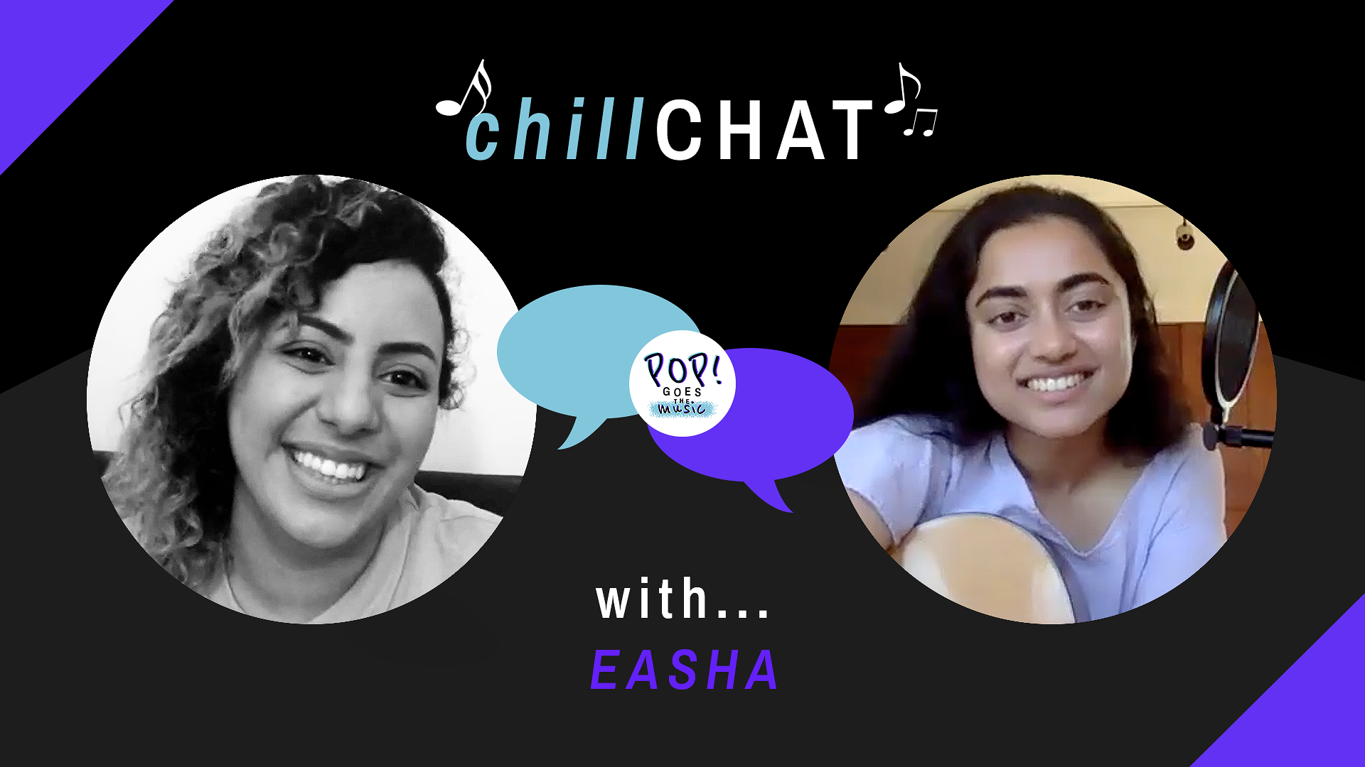 "Watch our third episode of ""ChillChat"", with Easha"