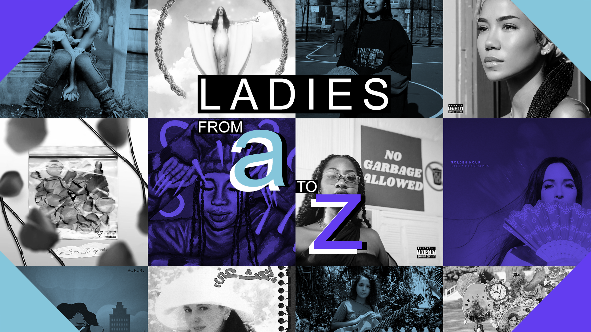 Playlist: Ladies, From A to Z